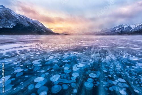 strumien-sniegu-nad-jeziorem-arbraham