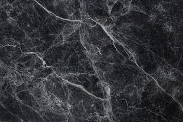 Black marble white veins