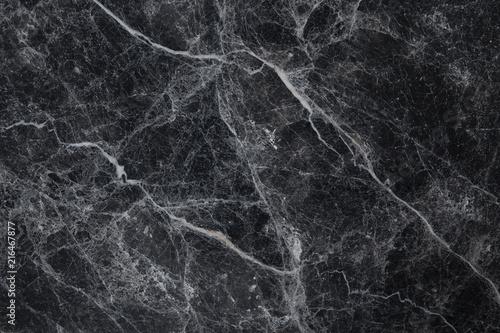 Czarne marmurowe białe żyły