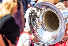 Trumpet Playing At Music Festi...