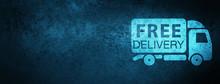 Free Delivery Truck Icon Speci...