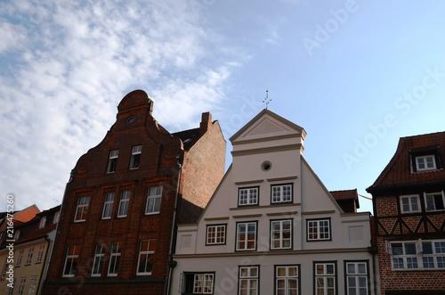 In de dag Noord Europa Centre historique de la vieille ville de Lüneburg (Allemagne)