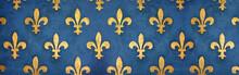 Fresque Fleurs De Lys / Floren...