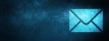 Email Icon Special Blue Banner Background