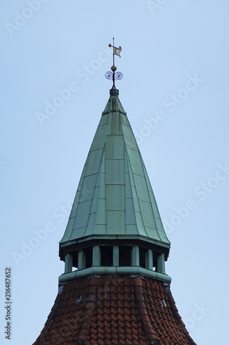 Photo Old tower in Copenhagen, Denmark