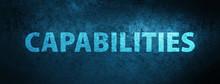 Capabilities Special Blue Bann...