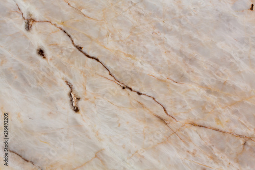 Canvas Prints Marble Contrast beige marble texture for your project.