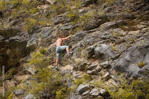 Poster  Rock climber