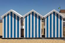 Beach Huts At Chatelaillon Pla...