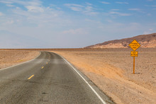 A Road In Death Valley Nationa...