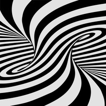 Black And White Lines Optical ...