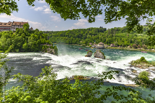 Foto op Plexiglas Europa Rheinfall