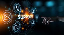 Technical Support Center Customer Service Internet Business Technology Concept