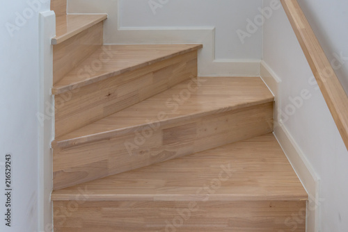 Keuken foto achterwand Trappen wooden staircase interior decoration