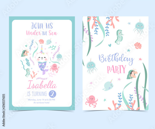 Szkło Hartowane Baby Shower Card Set Watercolor Invitation