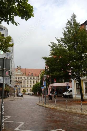 Fotobehang Noord Europa Magdebourg : Citadelle Verte (Allemagne)