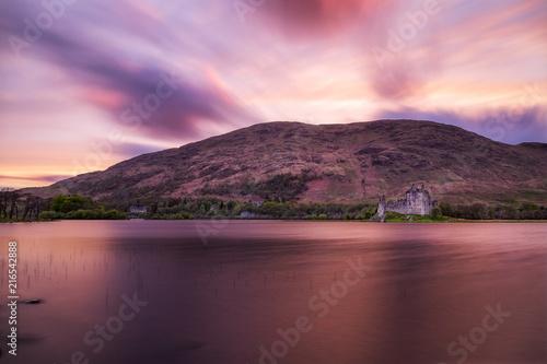 Riviere Sunset at Kilchurn Castle