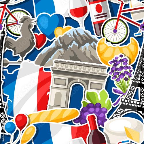 Tapety Francuskie  francja-wzor