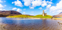 Ardvreck Castle At Loch Assynt