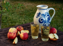 Traditional Apple Wine In The ...