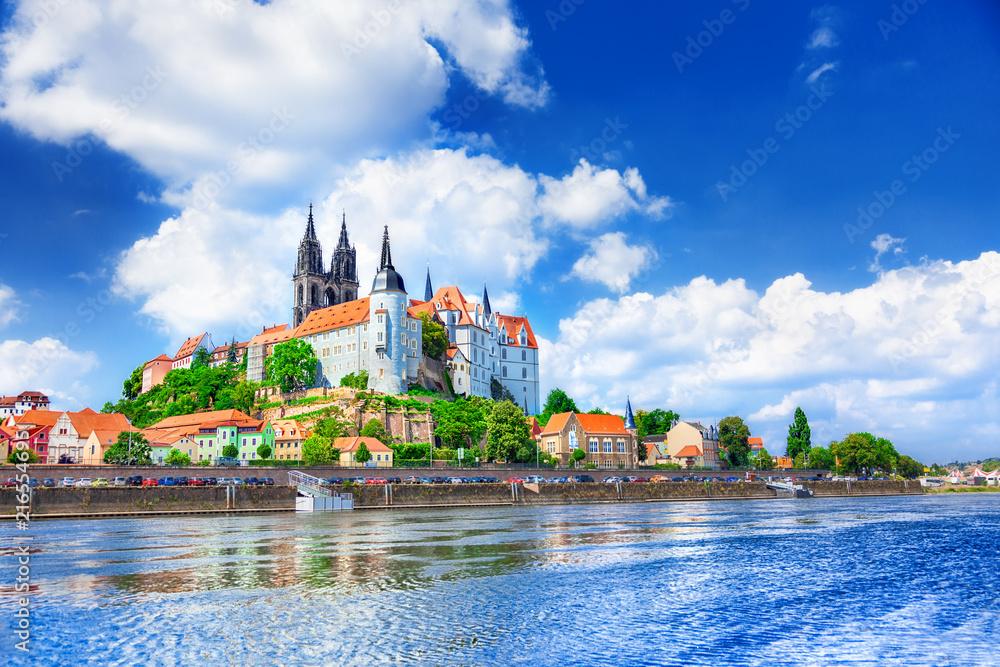 Fototapety, obrazy: View of Meissen Castle, Germany