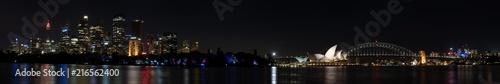 Sydney Harbor Night Panorama