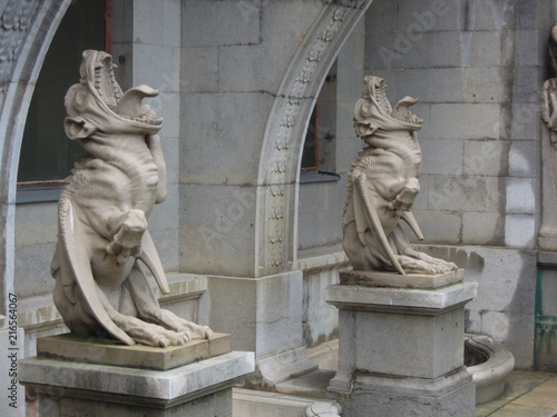 Fototapeta gargoyle statues