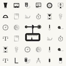 Anemometer Icon. Detailed Set ...