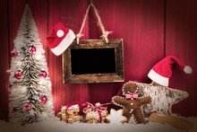 Christmas Card Ginger Bread Man