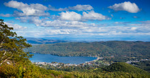 View Of Lake George, From Prospect Mountain