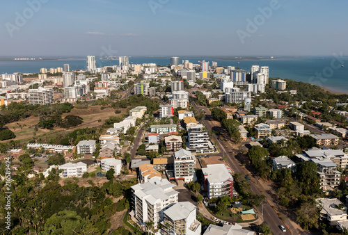 An aerial photo of Darwin, the capital city of the Northern Territory of Australia Wallpaper Mural