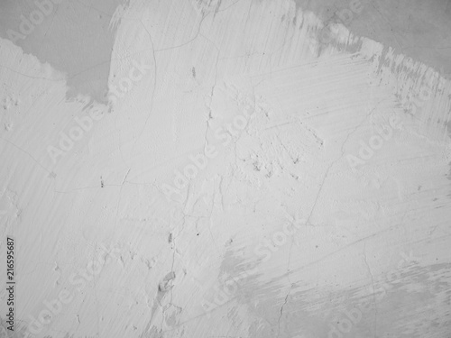 Foto op Aluminium Wand Old grunge abstract background texture White concrete wall