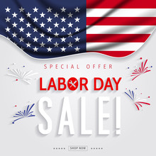 Labor Day Sale Banner. Labor D...