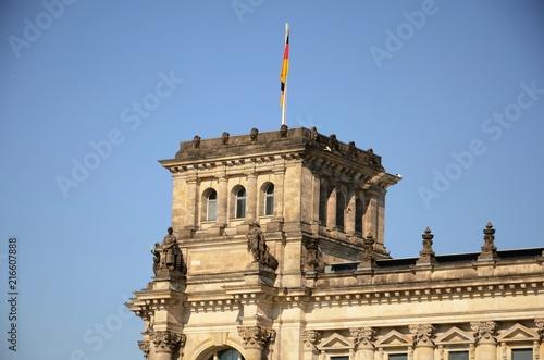 In de dag Noord Europa Berlin :Palais du Reichstag (Allemagne)
