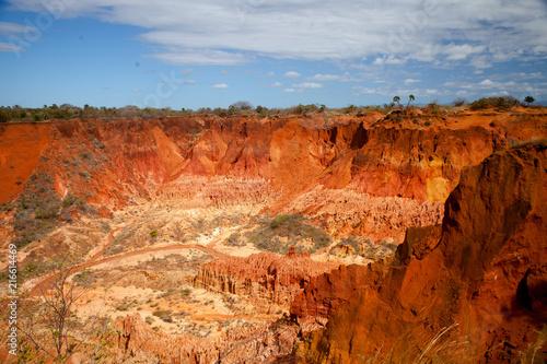Tuinposter Baksteen Madagaskar