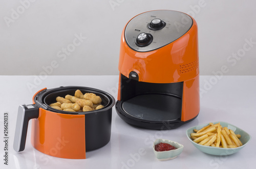 Fotografía  Air fryer machine