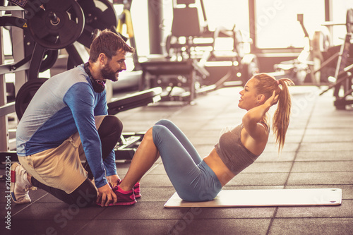 Exercise for stomach muscles