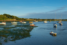 Small Boats And Dinghies At Lo...