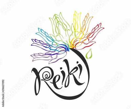 Photo  Reiki energy