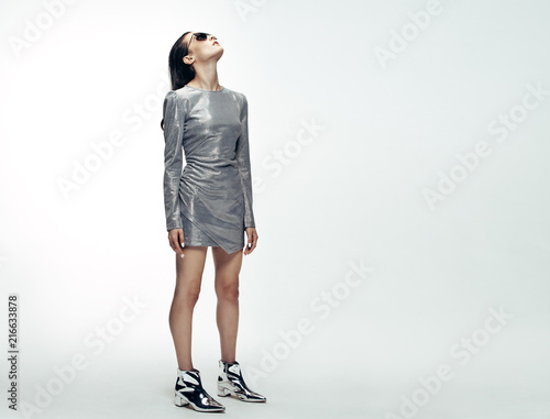 Photo Woman in futuristic style