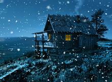 Santa's Secret Cottage In Firs...