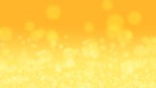輝く黄色の背景_ぼかし_光球