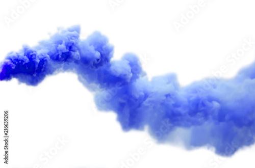 Türaufkleber Rauch Blue smoke