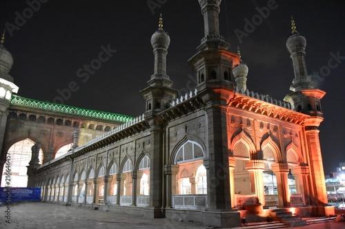 Mecca mosque, Hyderabad, India