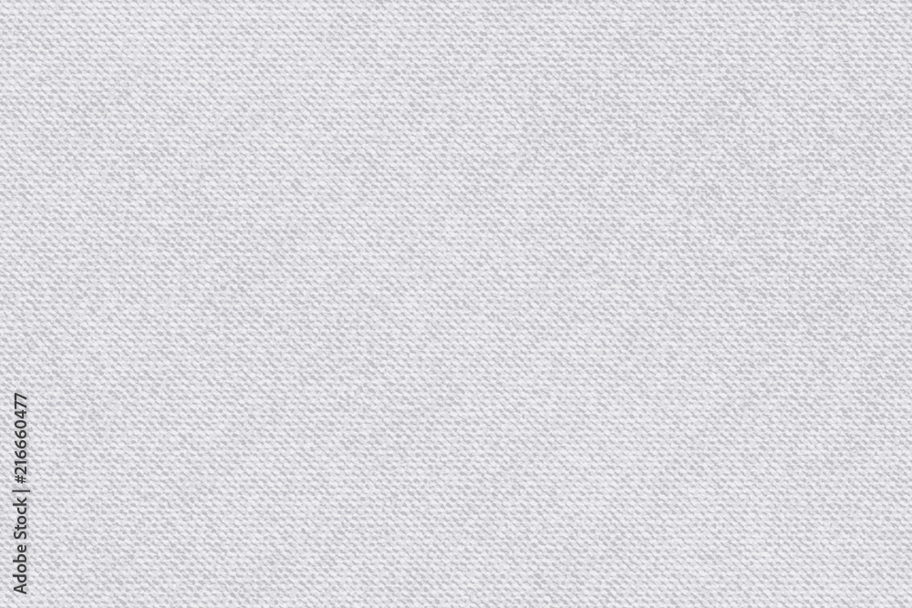 Fototapety, obrazy: Fabric pattern gray with white stripes. Light textured vector background, bright backdrop, soft textile texture. Natural material wallpaper.