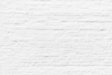 Pattern Of White Painted Brick...