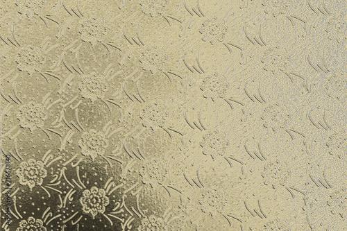 Fényképezés  Floral gold background