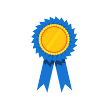 Blue Ribbon Award, Blank Golde...