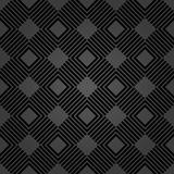 Geometric abstract vector pattern. Geometric modern dark ornament. Seamless modern background - 216681094