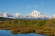 Teton Early Fall Landscape